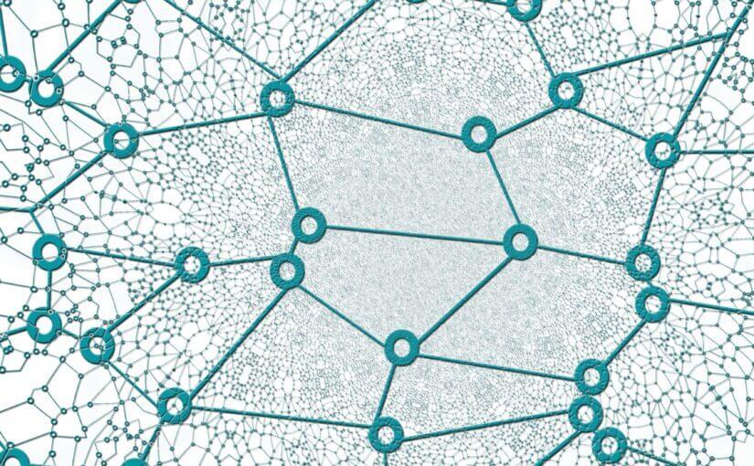 Netzwerk (Bildquelle: Pixabay, gerait; lizensiert unter CC0 1.0)