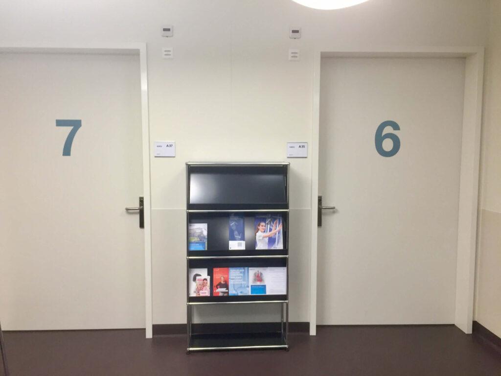 SUED2 am Universitätsspital Zürich (Bild: Alfred Angerer)